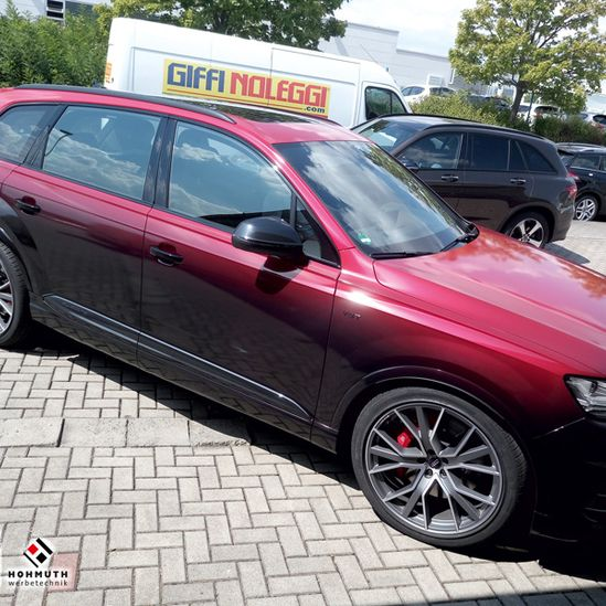 Audi SQ7 Vengance Red Digitaldruck Geilstes Rotcoolstes Rot 1