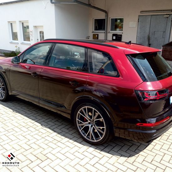 Audi SQ7 Vengance Red Digitaldruck Geilstes Rotcoolstes Rot 2