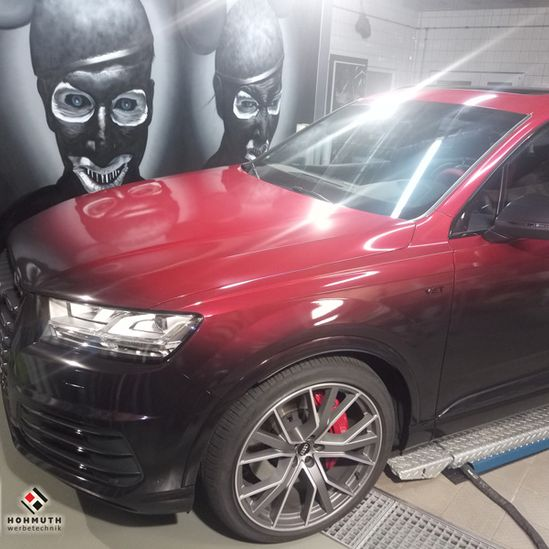 Audi SQ7 Vengance Red Digitaldruck Geilstes Rotcoolstes Rot 3